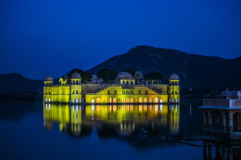 Water Palace or Jal Mahal, Jaipur stock photo