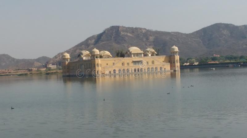 Jal mahal water royalty free stock photography