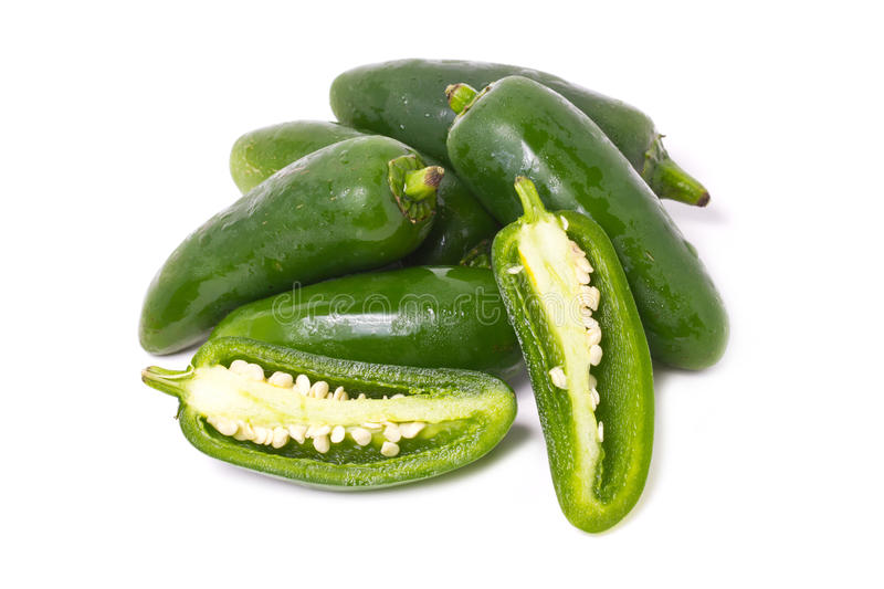 Jalapeno Pepper. royalty free stock photo