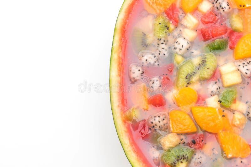 jalea de frutas de la mezcla fotos de archivo