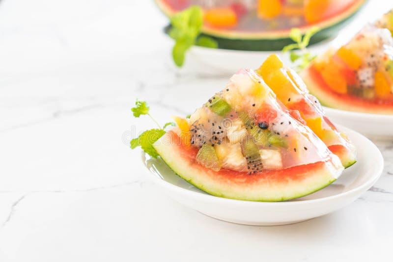 jalea de frutas de la mezcla imagen de archivo