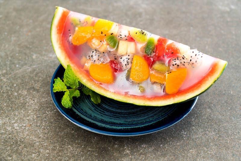 jalea de frutas de la mezcla foto de archivo
