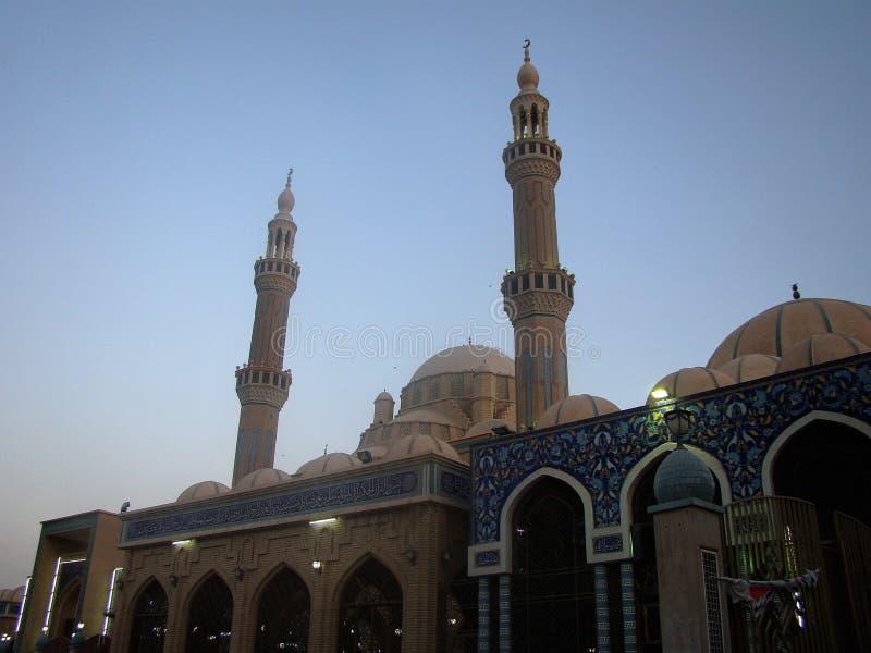 Jalil Khayat Mosque Erbil, Irak image stock