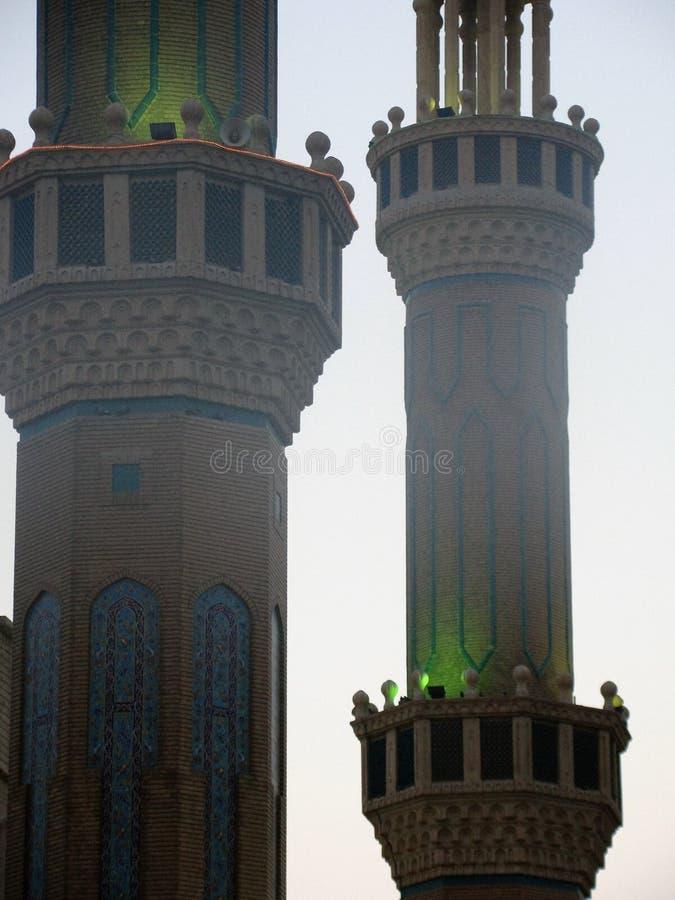 Jalil Khayat Mosque Erbil, Irak immagine stock libera da diritti