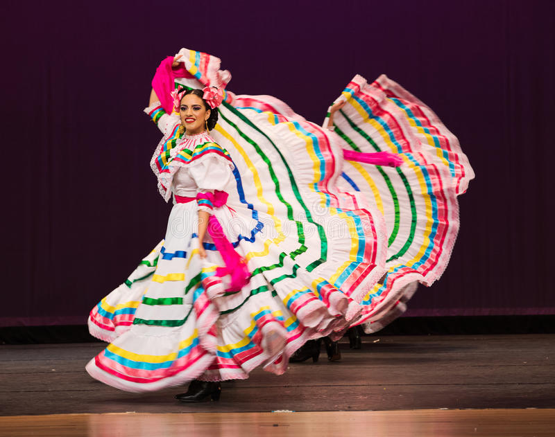Jalisco Mexican Folkloric Dance stock photos