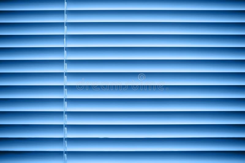 Jalousie bleue photo libre de droits