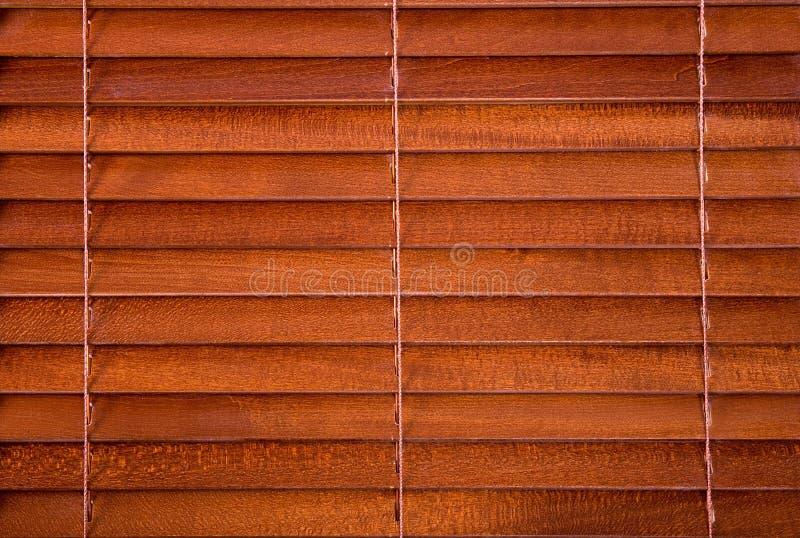 Jalousie de madeira imagem de stock
