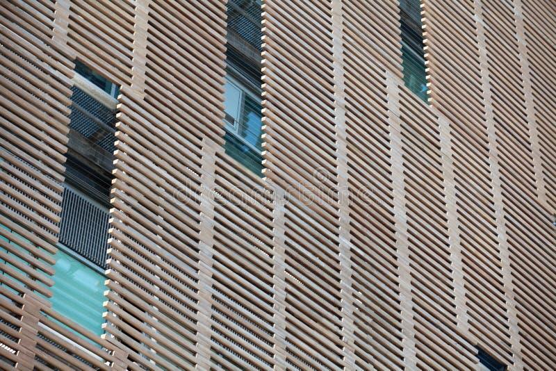 Jalousie de madeira exterior imagem de stock royalty free