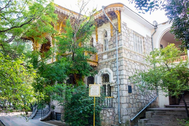 JALTA, KRIM - NOV. 2014: Jalta-Museum stockbild