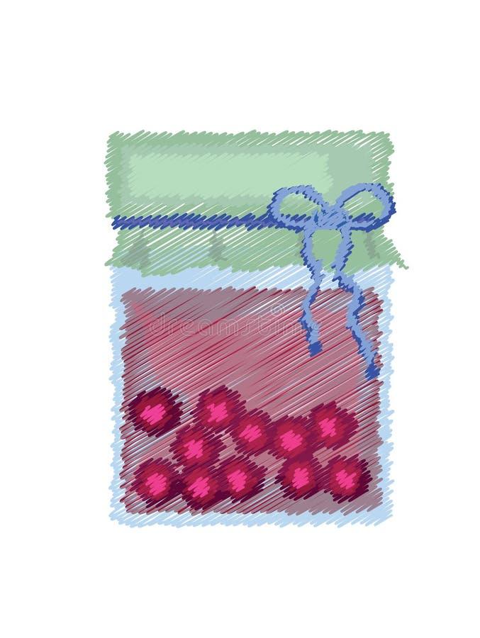 Download Jam stock vector. Image of clip, dessert, treats, household - 18122737