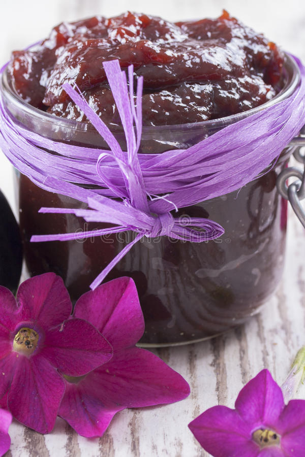 Download Jam stock photo. Image of healthy, flora, purple, background - 33402018