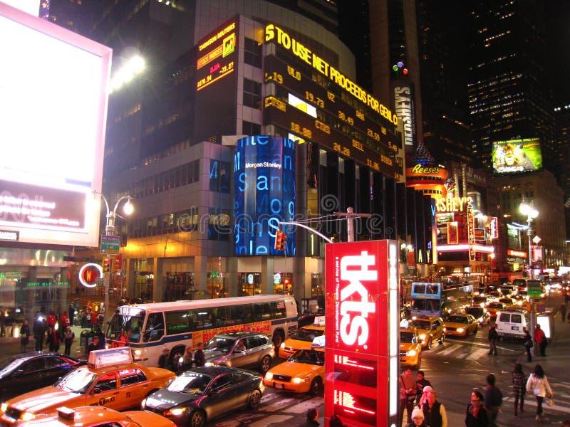 jam midnight square times traffic στοκ φωτογραφία με δικαίωμα ελεύθερης χρήσης