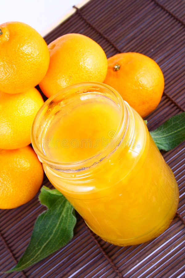 Free Jam Tangerines Royalty Free Stock Photo - 3214065