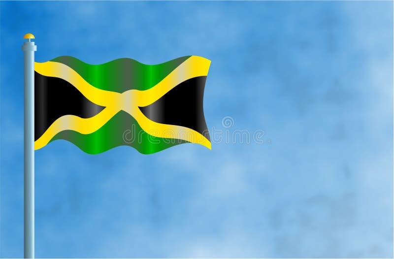 Jamaïca royalty-vrije illustratie