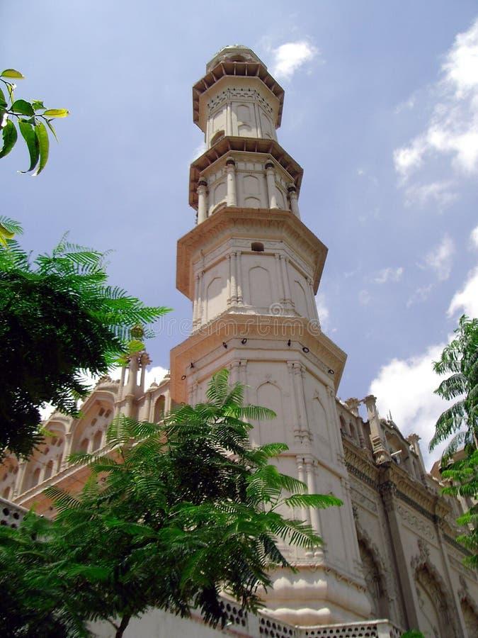 jama勒克瑙masjid 免版税库存照片