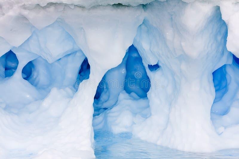jama błękitny lód obraz royalty free
