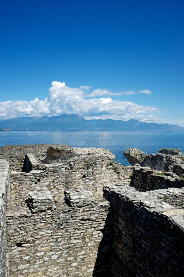 Jama Catullus, Włochy zdjęcie stock