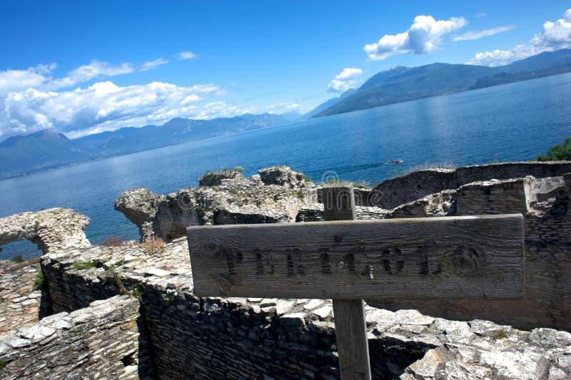Jama Catullus, Włochy zdjęcia stock