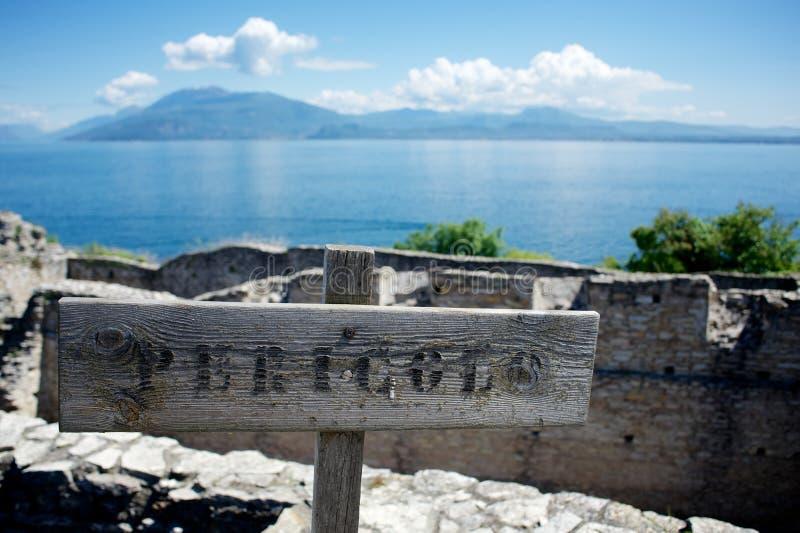 Jama Catullus, Włochy obrazy royalty free