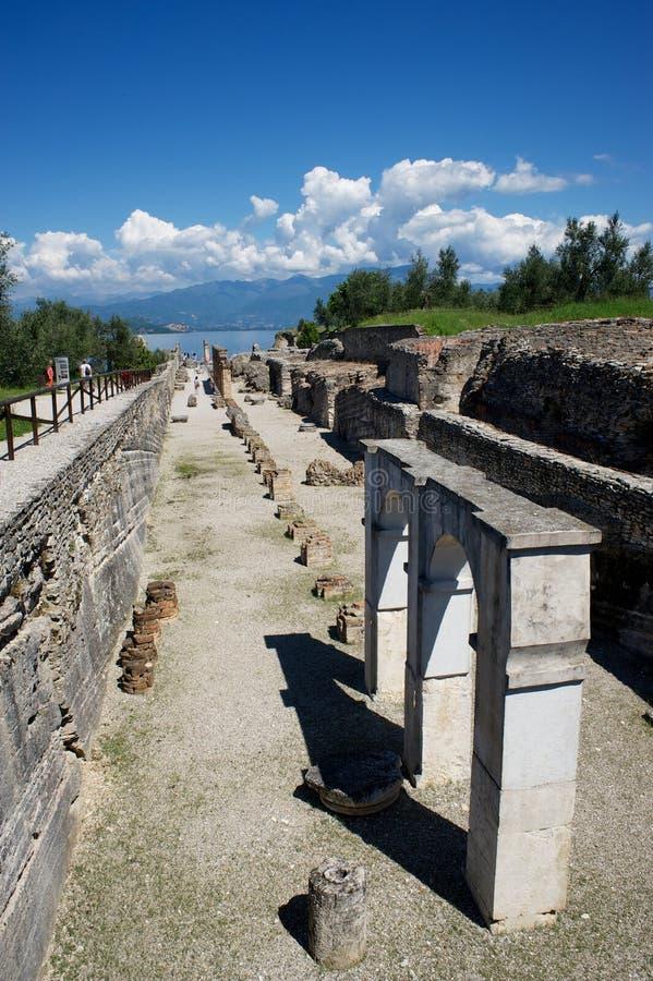 Jama Catullus, Włochy zdjęcia royalty free
