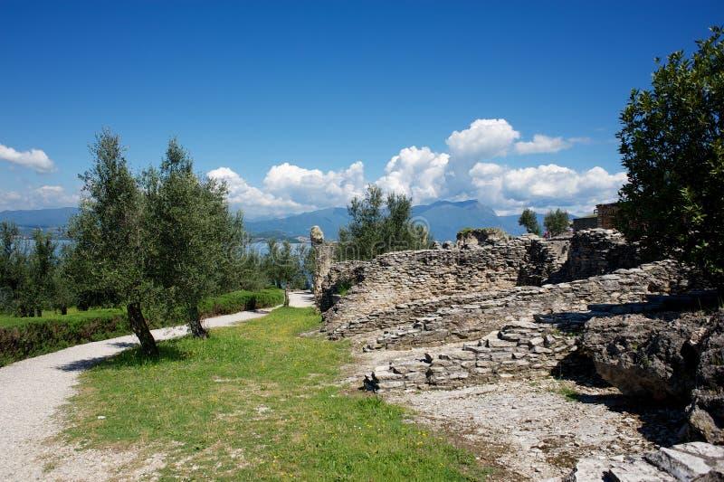 Jama Catullus, Włochy obrazy stock