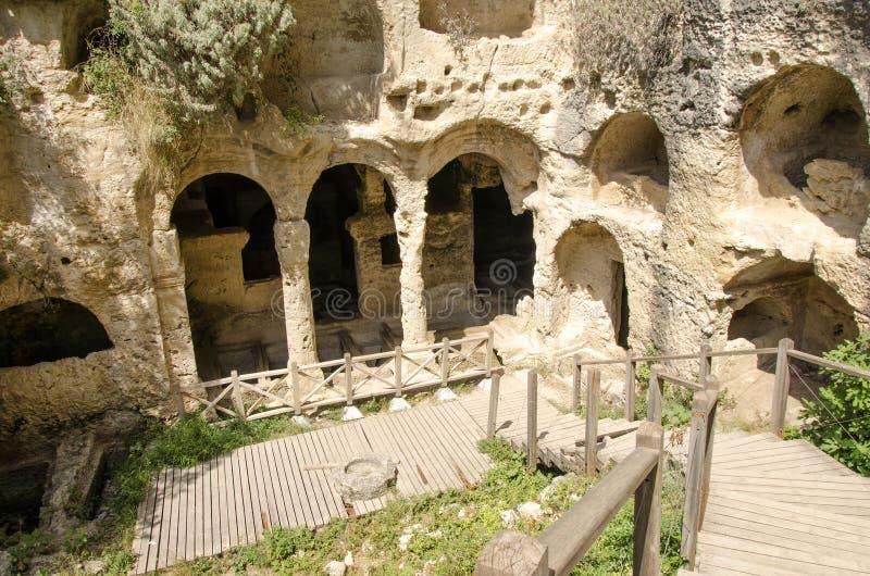 Jama grobowowie W Antakya, Turcja zdjęcia royalty free