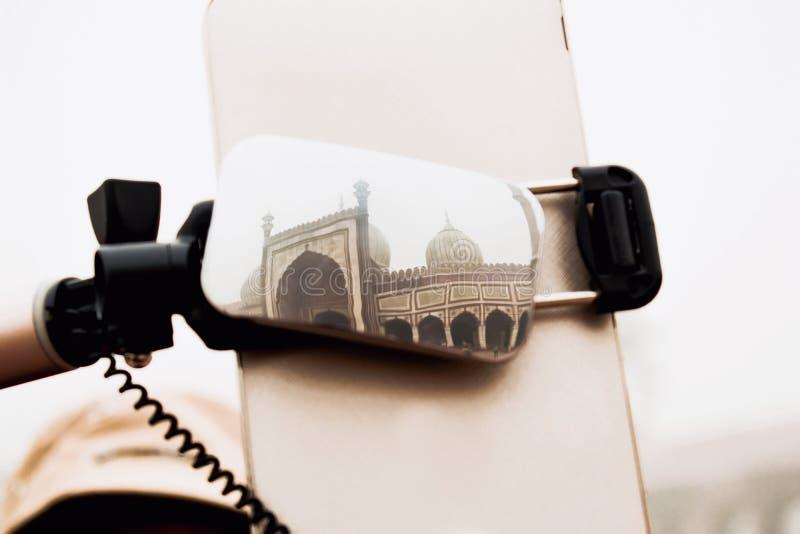 Jama Masjid,印度德里 免版税库存照片