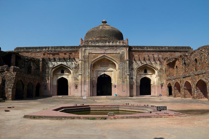 Jama masjid στο Δελχί στοκ εικόνες με δικαίωμα ελεύθερης χρήσης