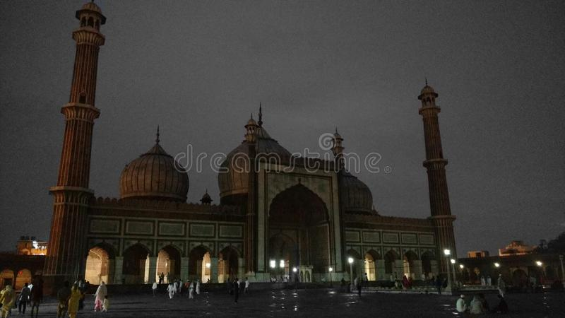 Jama Masjid стоковые фото