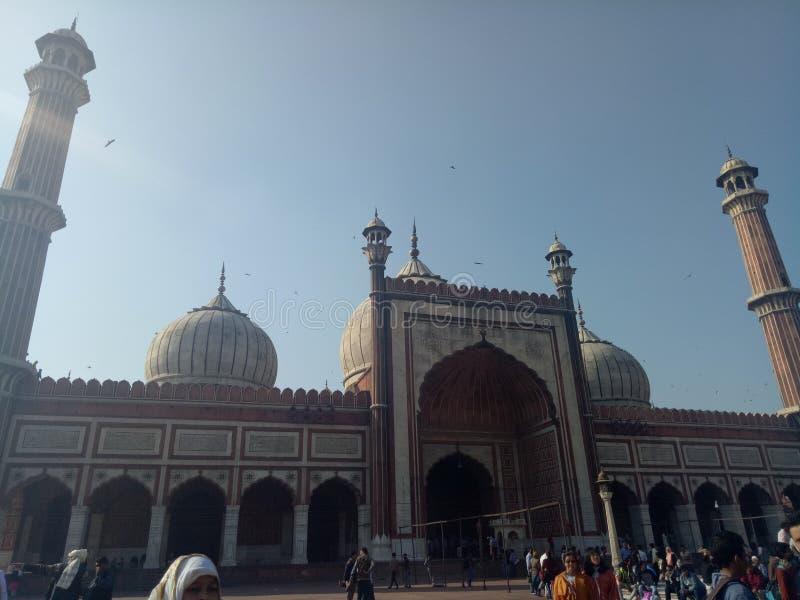 Jama Masjid fotografia de stock royalty free