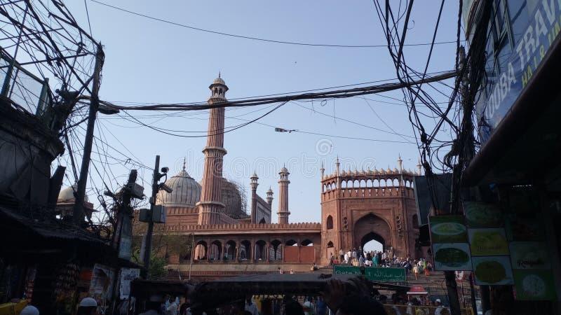 Jama Masjid foto de stock