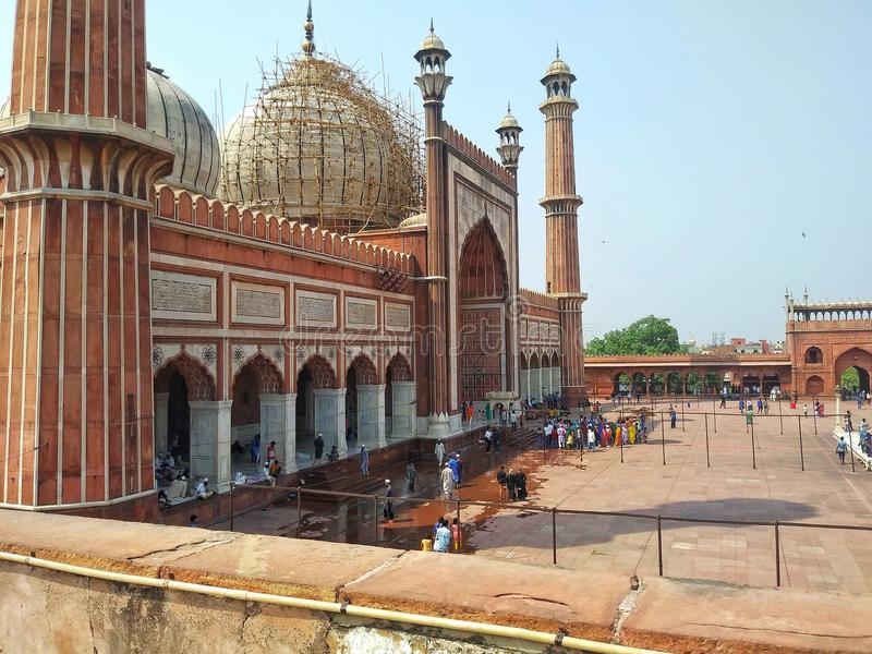 Jama Masjid photo stock
