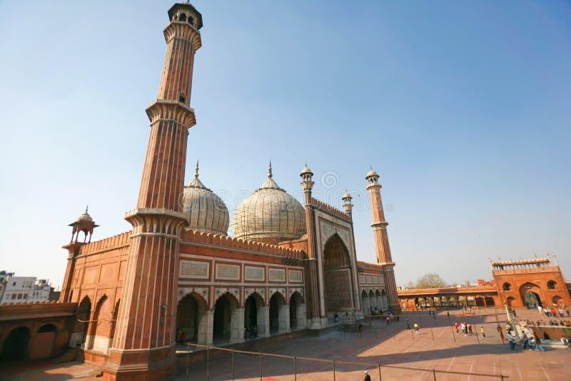 Jama masjid stockbilder