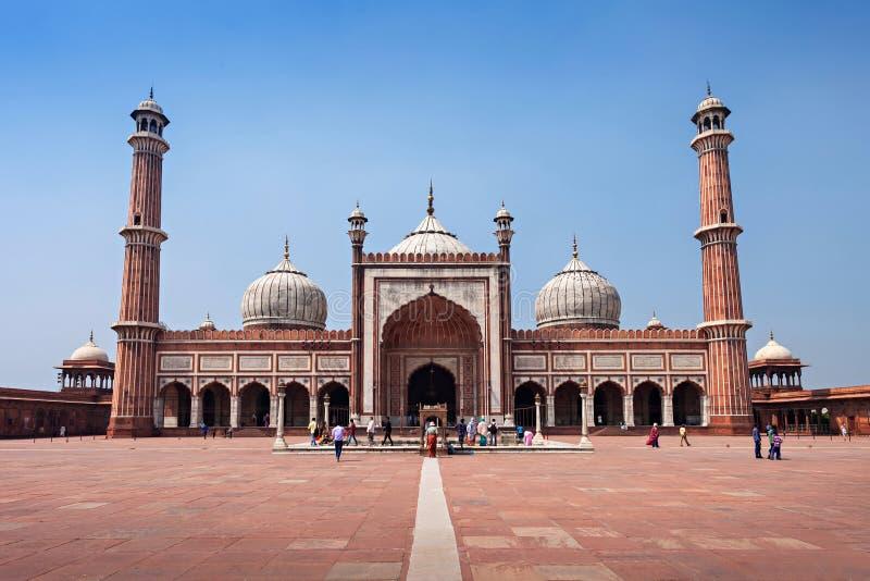 Jama Masjid стоковое изображение