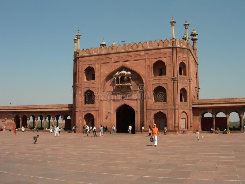 Jama Masjid fotografia stock libera da diritti
