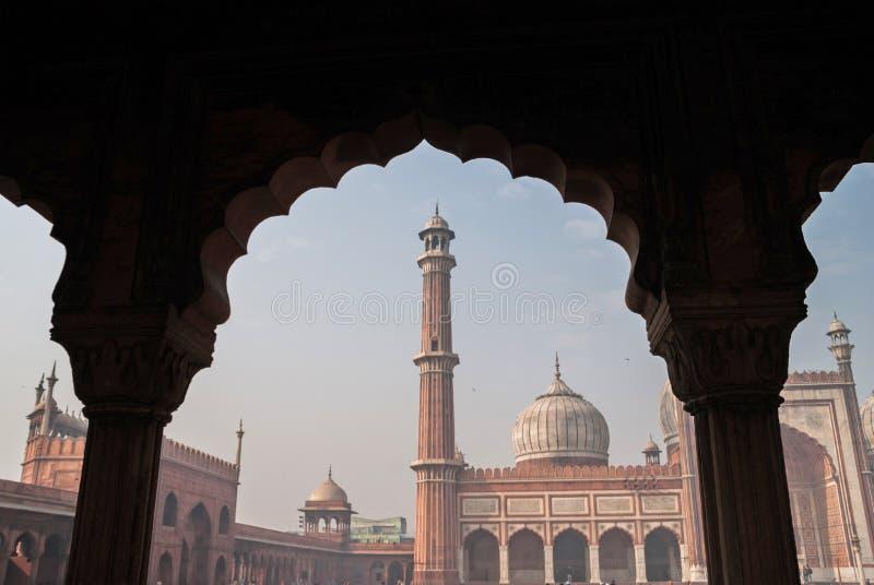 Jama Masjid photo libre de droits