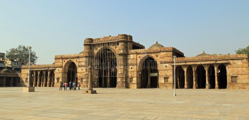 Jama Masjid Ahmedabad fotografie stock libere da diritti