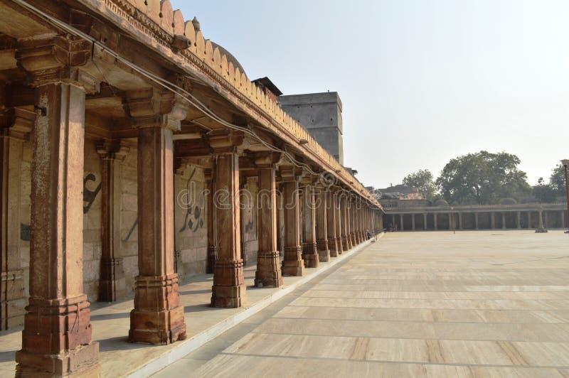 Jama Masjid, Ahmedabad royalty-vrije stock foto's