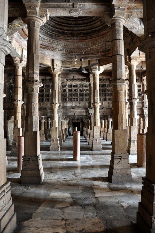JAMA MASJID, AHMEDABAD.Gujarat. zdjęcie royalty free
