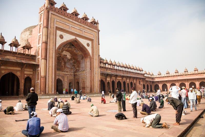 Jama Masjid, Fatehpur Sikri, India zdjęcia stock