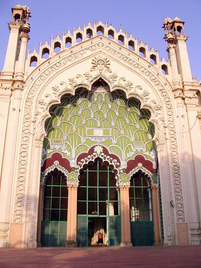 Jama Masjid Lucknow imagem de stock