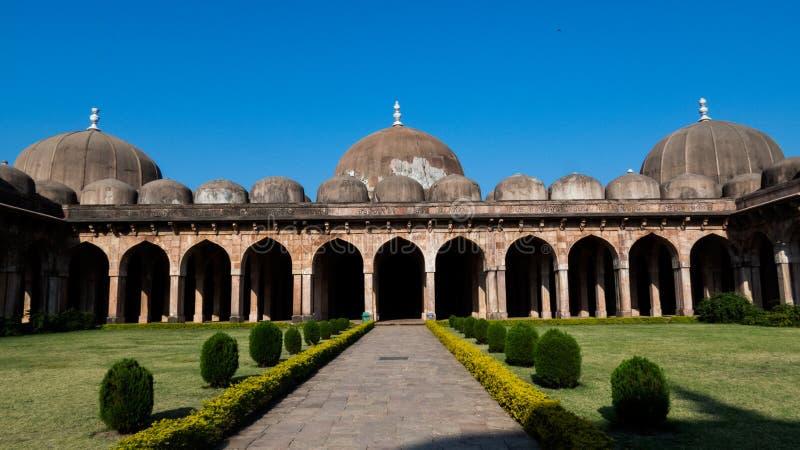 Jama Masjid Mosque Mandu Mp-India immagine stock libera da diritti