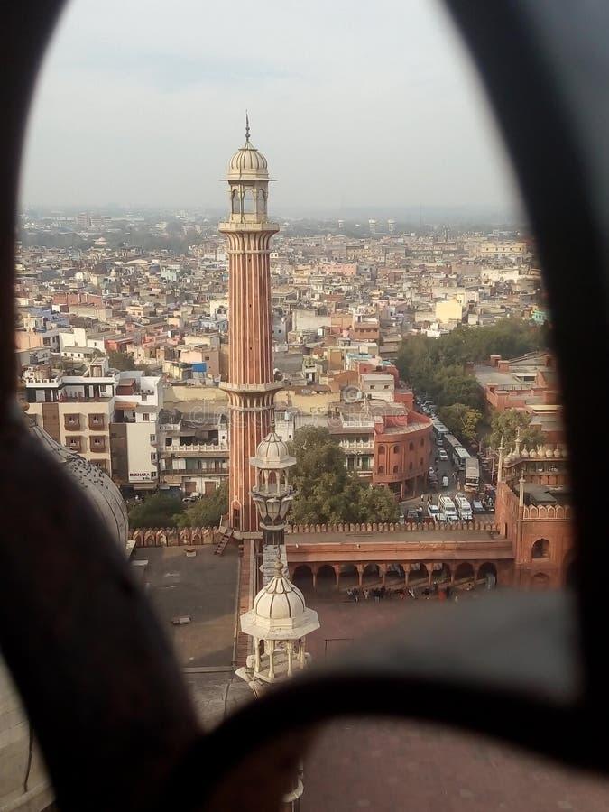 Jama Masjid, Nova Deli imagem de stock royalty free