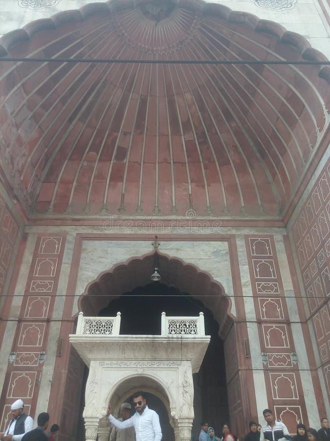 Jama Masjid, Nova Deli fotos de stock royalty free