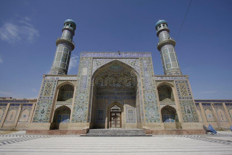 Jama Masjid van Hart stock afbeeldingen