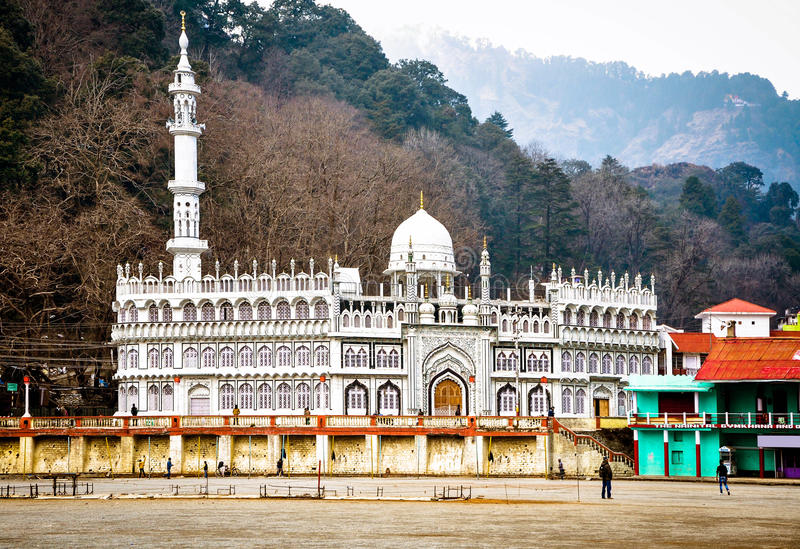 Jama Mosque Nainital foto de stock