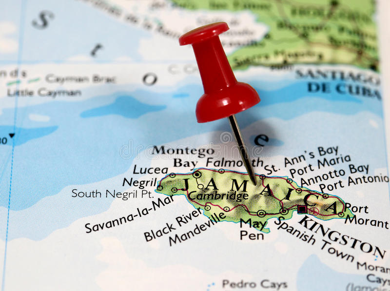 Jamaica in Caribbean stock photo. Image of antilles, background ...