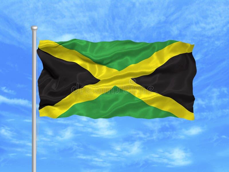 Jamaica Flag 1 stock image