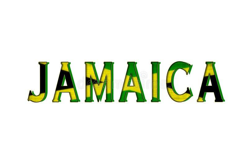 jamaica ilustração stock