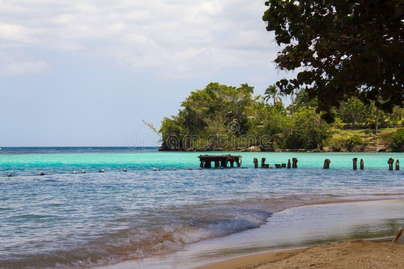 Jamaicaans Strand B stock afbeelding
